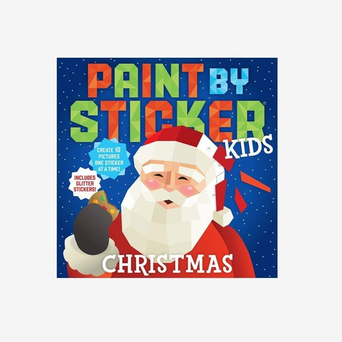 Paint by Stickers Kids - Christmas