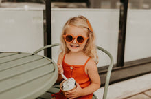 Load image into Gallery viewer, Grech & Co Sustainable Kids Sunnies - Spice