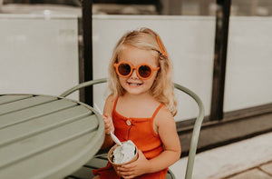Grech & Co Sustainable Kids Sunnies - Spice