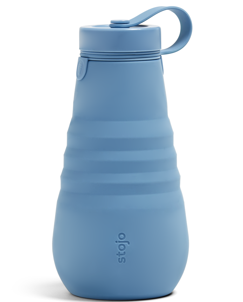 Stojo 20oz Bottle - Steel