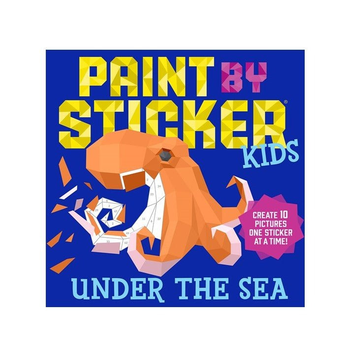 Paint by Stickers Kids - Under the Sea