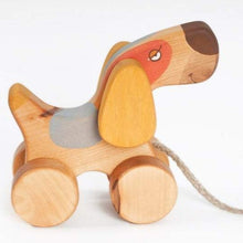 Load image into Gallery viewer, Friendly Toys Terrier Pull Toy