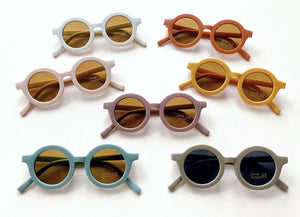 Sustainable Kids Sunnies - Stone