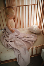 Load image into Gallery viewer, Extra Soft Muslin Crib Sheet - Natural