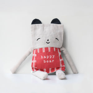 Wee Gallery Organic Bear Flippy Friend