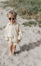 Load image into Gallery viewer, Grech & Co Sustainable Kids Sunnies - Stone