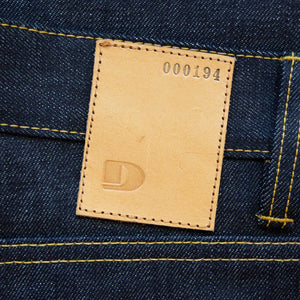 MEN JEANS LOOSE FIT STRAIGHT - 14.75 OZ. RAW SELVAGE DENIM W211 LTD.