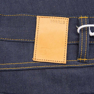 MEN JEANS SLIM FIT STRAIGHT - 13 OZ. RAW SELVAGE DENIM ORGANIC COTTON