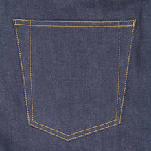 Lade das Bild in den Galerie-Viewer, DSIDE PRODUCTS Pocket mit hidden rivets auf Raw Selvage Denim Jeans.