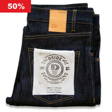 Lade das Bild in den Galerie-Viewer, SALE MEN JEANS LOOSE FIT STRAIGHT - 14.75 OZ. RAW SELVAGE DENIM W211 LTD.