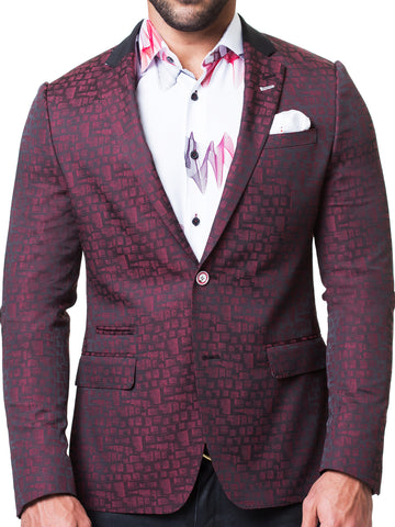 Blazer Socrate Square Red