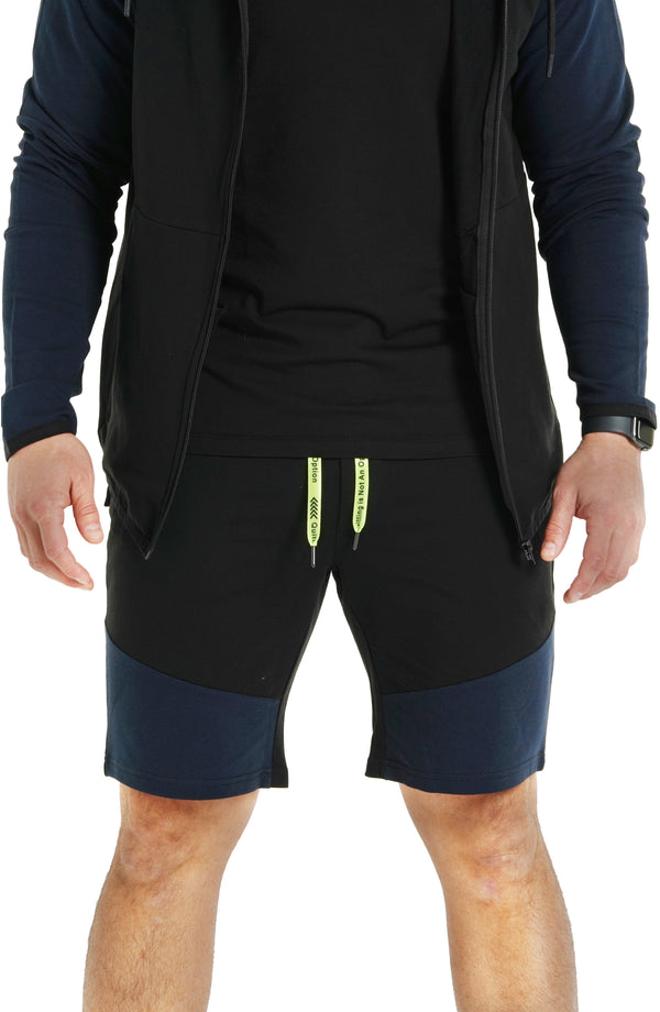 Shorts Contrast Blue