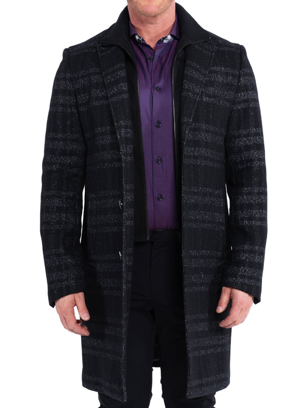 Peacoat CaptainPlaid Grey