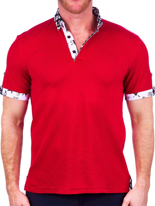 Polo MozartSolid Red