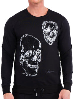 Sweater DoubleSkull Black