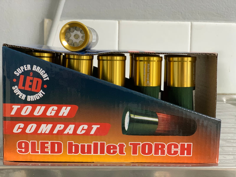 Compact LED Bullet Torch