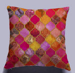 Nordic Vintage Africa Geometry Stripe Cushion Cover