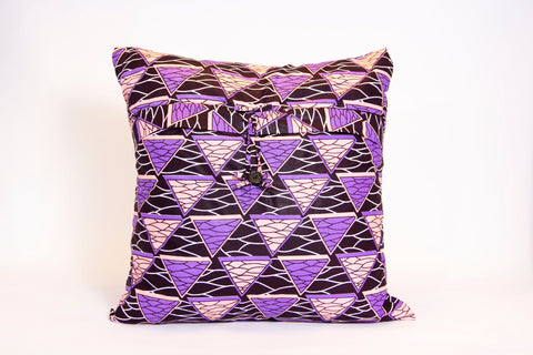 Throw Pillow Cover (Purple)
