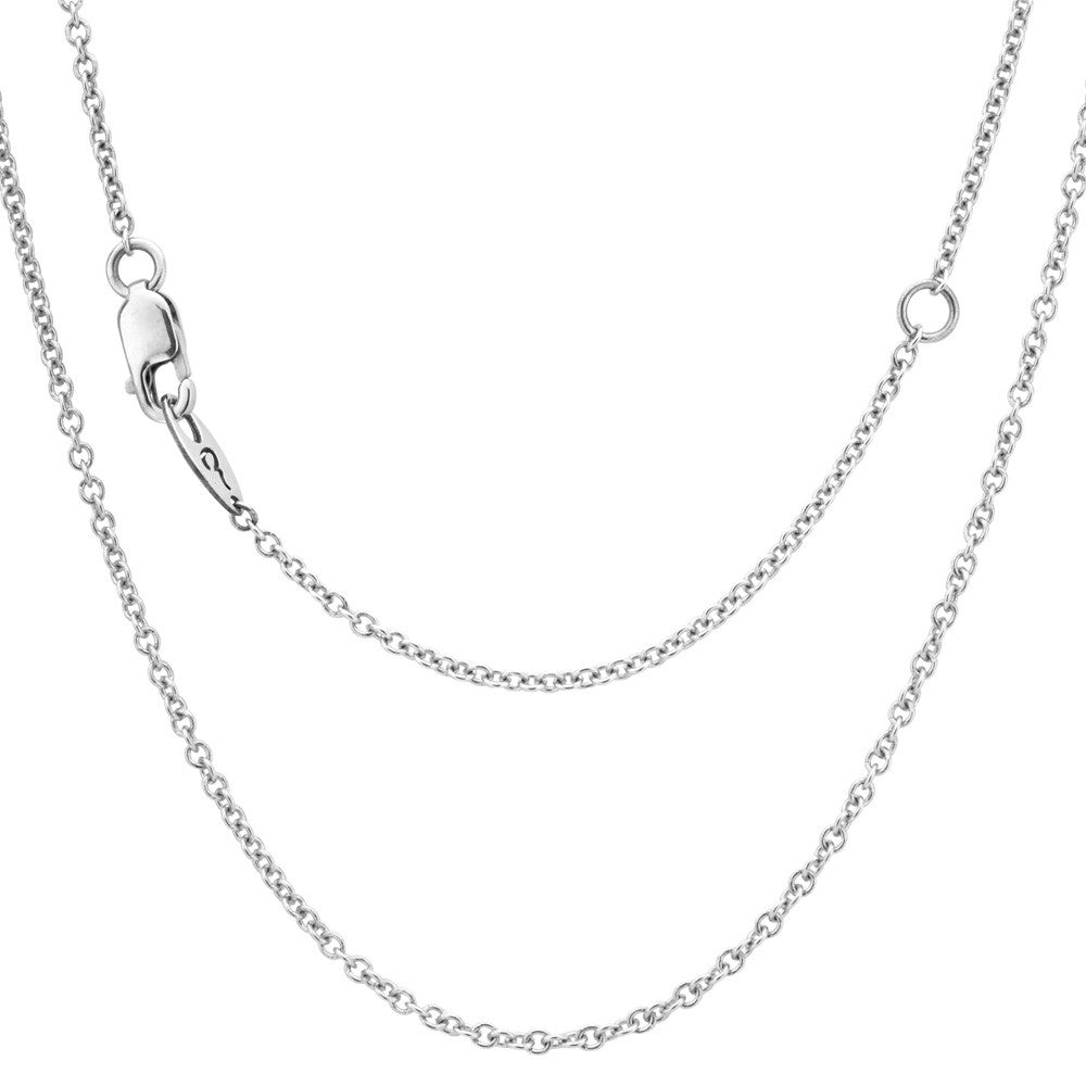 "16"" Sterling Silver Chain with 2"" Extender"