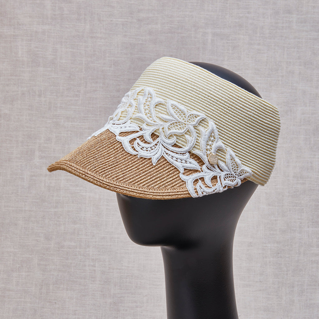 Clara Visor Cream Tan