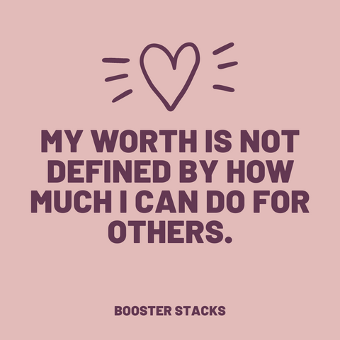 Worth is not defined by others