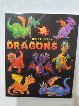 Dragons Mini Sticker Book