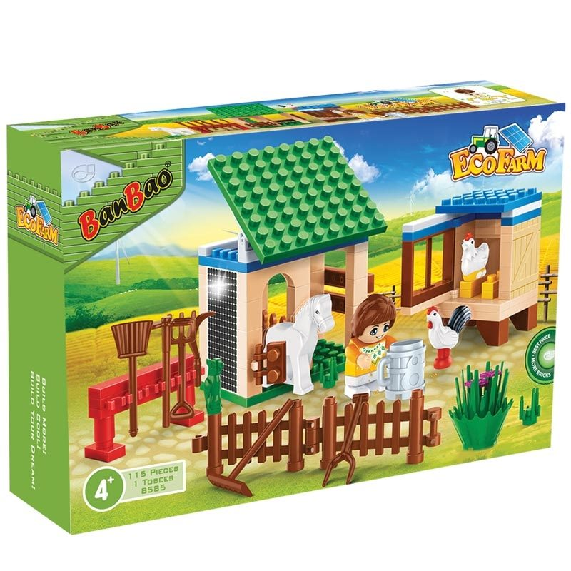 Banbao Animal Farm 115pc