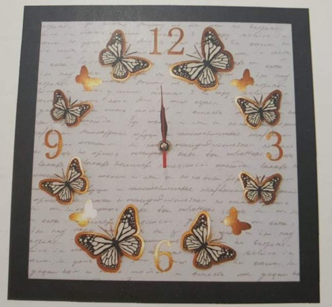LED Butterfly Clock