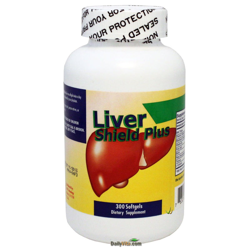 NuHealth Liver Shield Plus, 200 mg - 300 Softgels