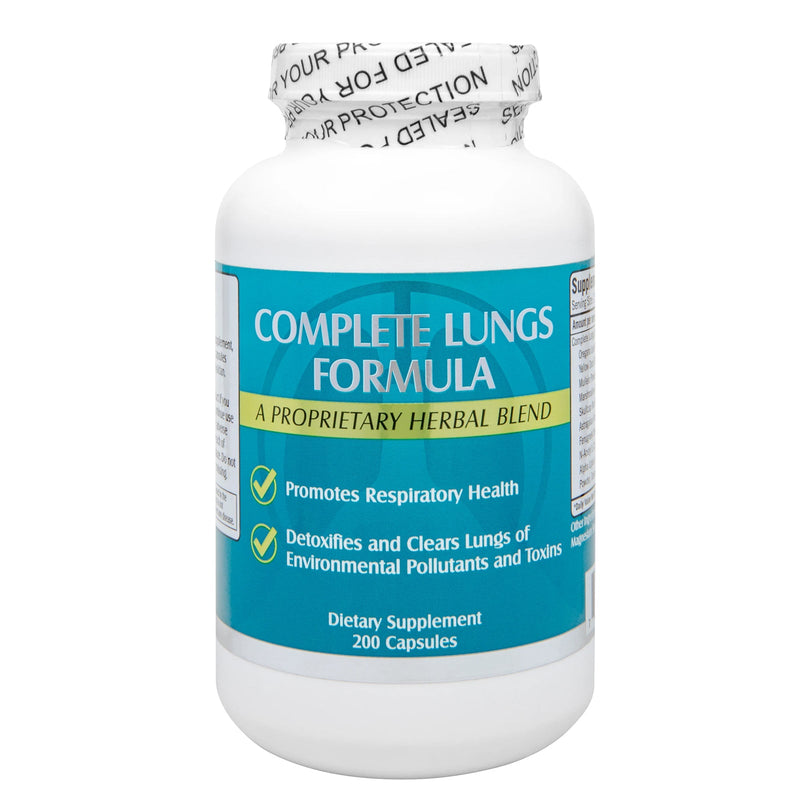 NuHealth Clear Lung 200 Capsules