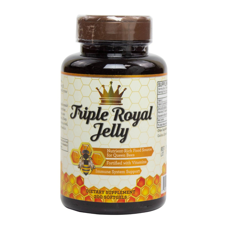 NuHealth Triple Royal Jelly - 200 Softgels