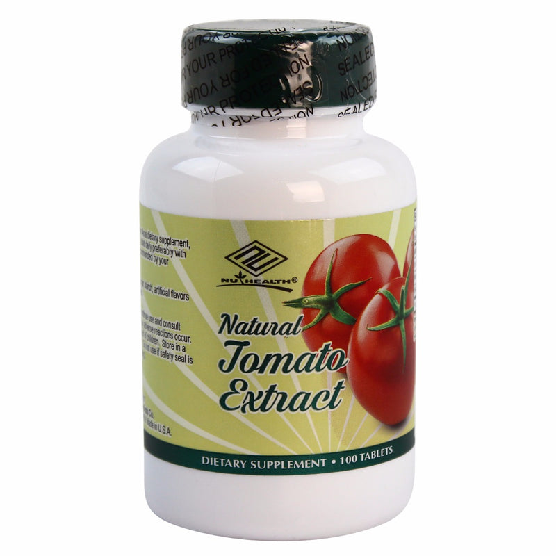 NuHealth Natural Tomato Extract - 100 Tablets