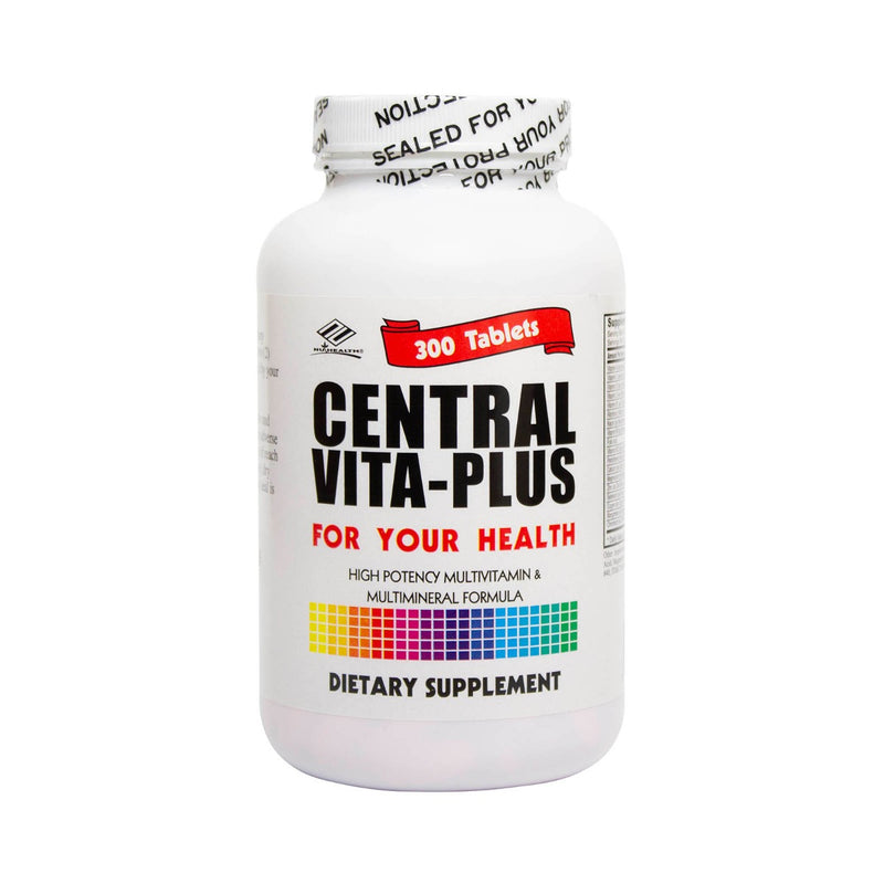 NuHealth Central Vita-Plus Multivitamin - 300 Tablets