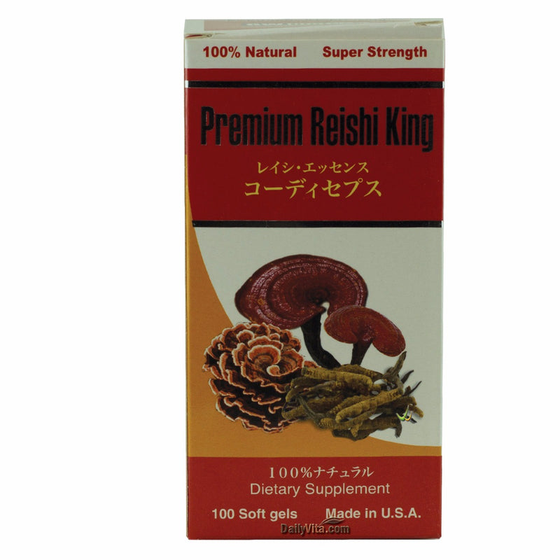Greenwood Premium Reishi King 100 Softgels