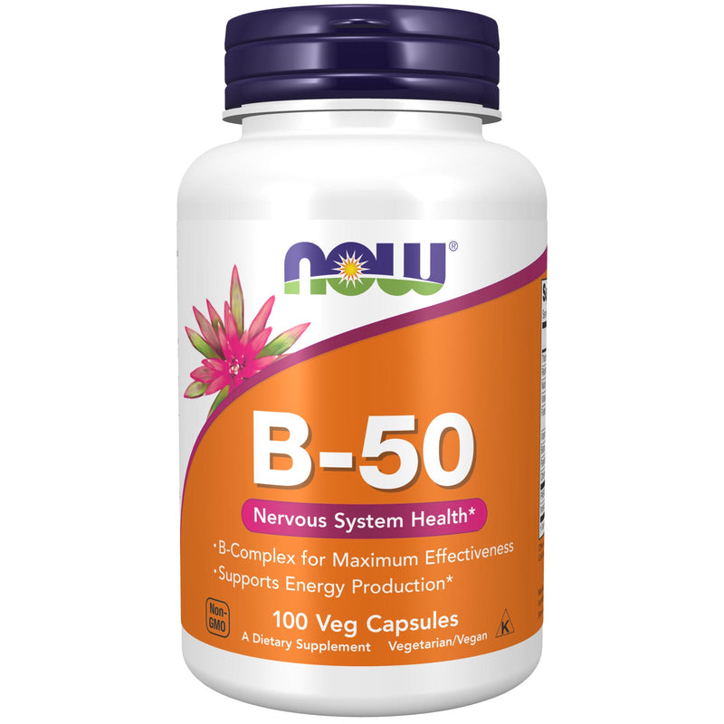 Now Foods Vitamin B-50 - 100 Caps