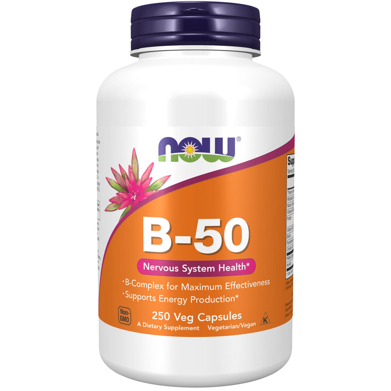Now Foods Vitamin B-50 - 250 Capsules