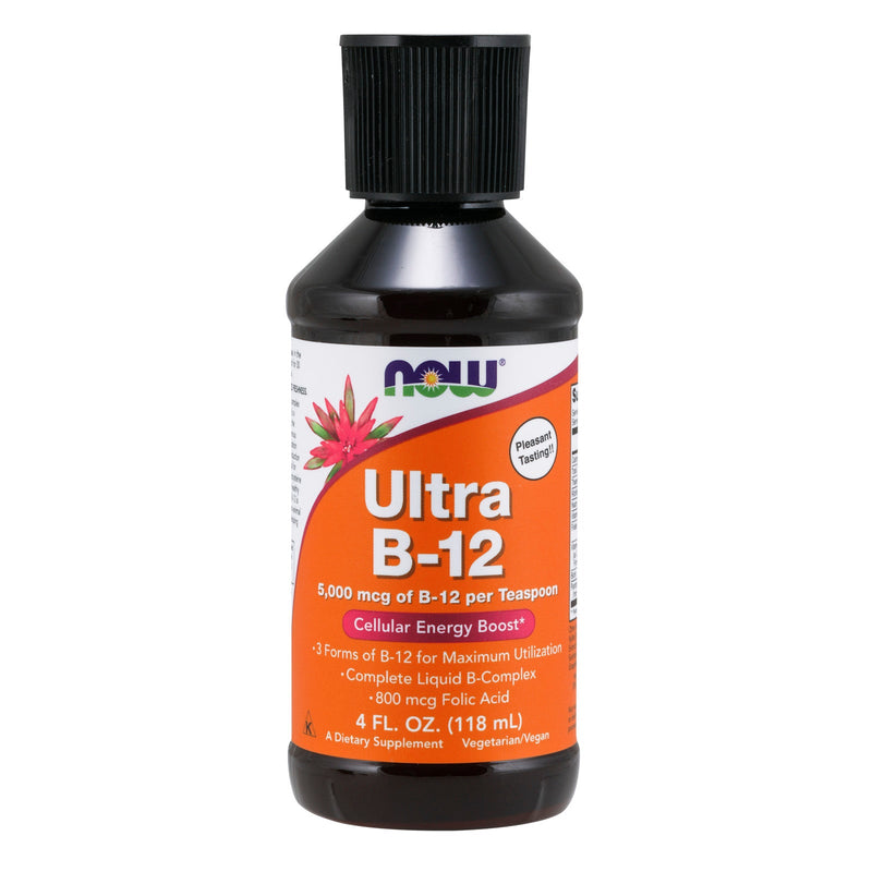 Now FOOD Ultra B-12 Liquid - 4 fl.oz (118ml)