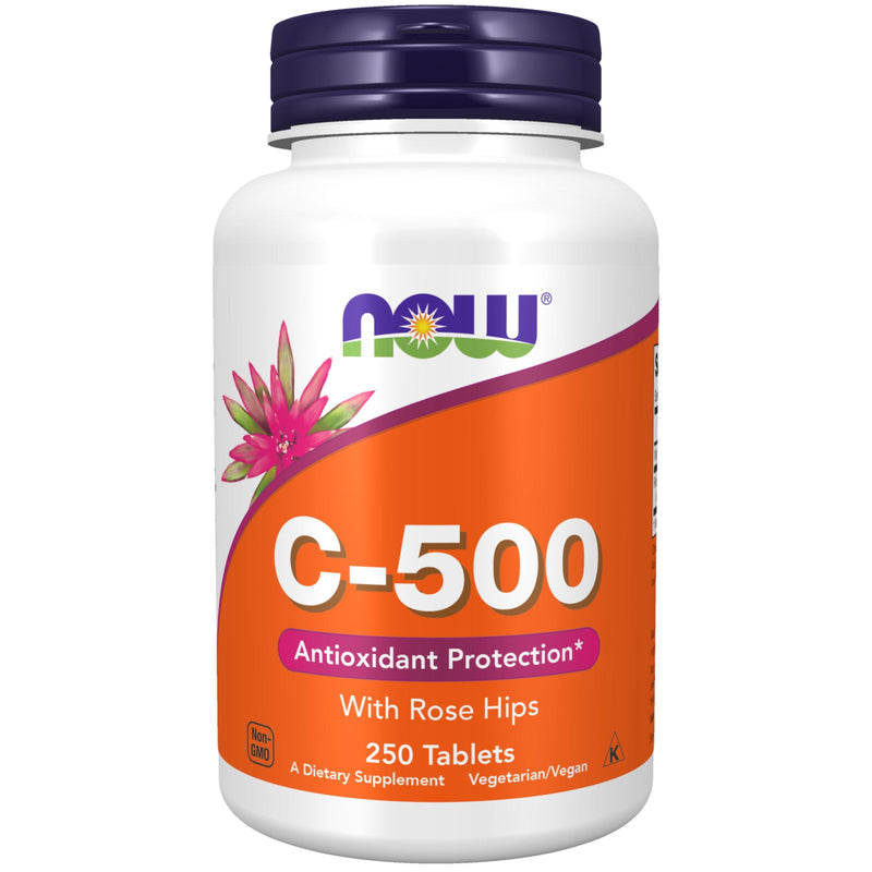 Now Foods C-500 W Rose Hips 250 Tabs