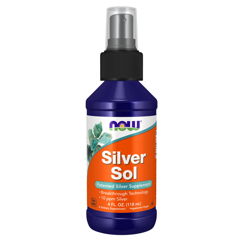 Now Foods Silver Sol - 4 Fl Oz