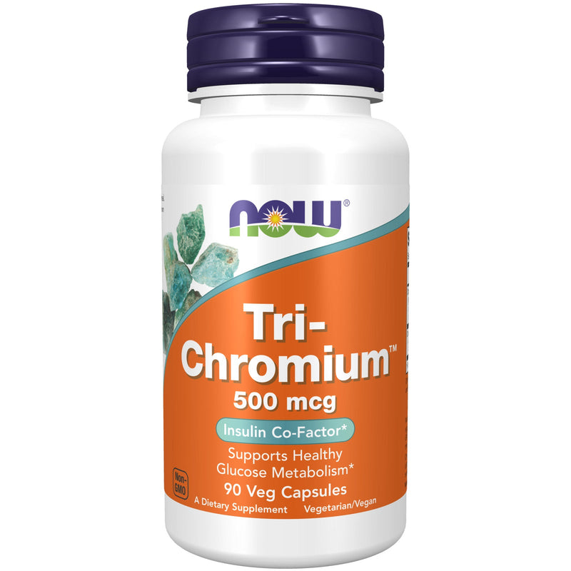 Tri-Chromium + Cinnamon 500mcg - 90 Vegetable Capsules