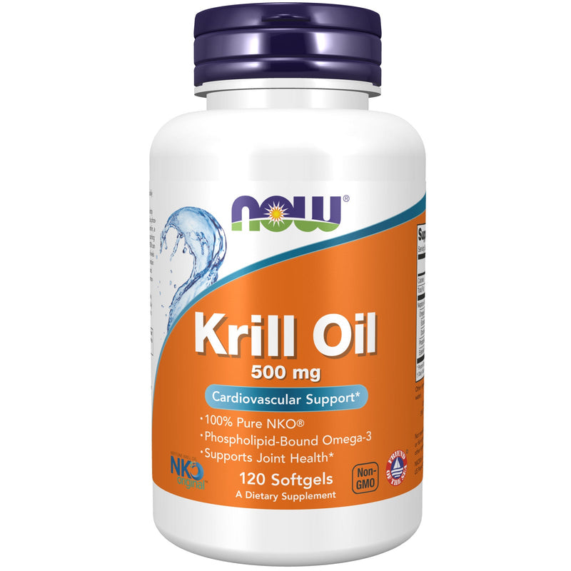Now Foods Neptune Krill Oil 500 mg - 120 Softgels