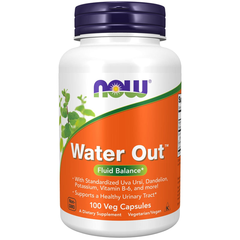 Now Water Out - 100 Veg Capsules