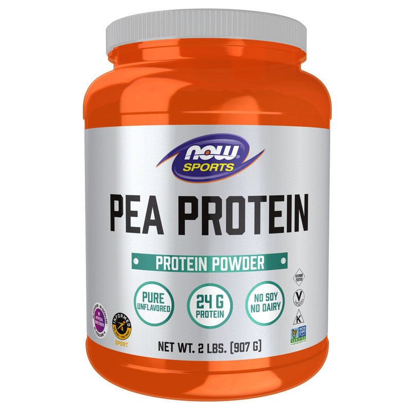 Now Foods Pea Protein Natural Unflavored 2lbs (907g)