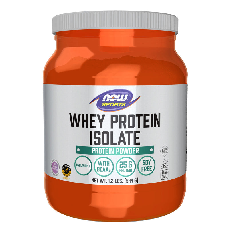 Now Foods Whey Protein Isolate Unflavored 1.2 lbs