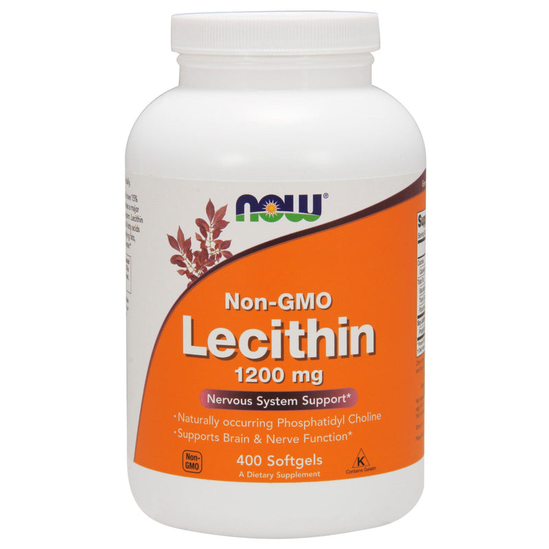 Now Foods Lecithin 19 Grain 1200 mg - 400 Gels