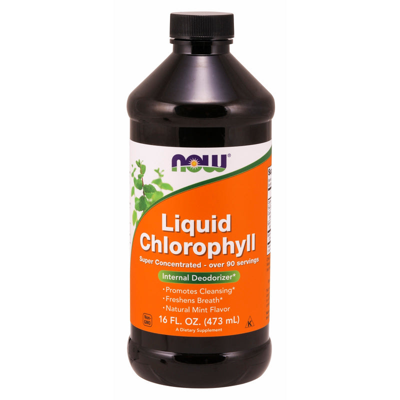 Liquid Chlorophyll & Mint - 16 Oz