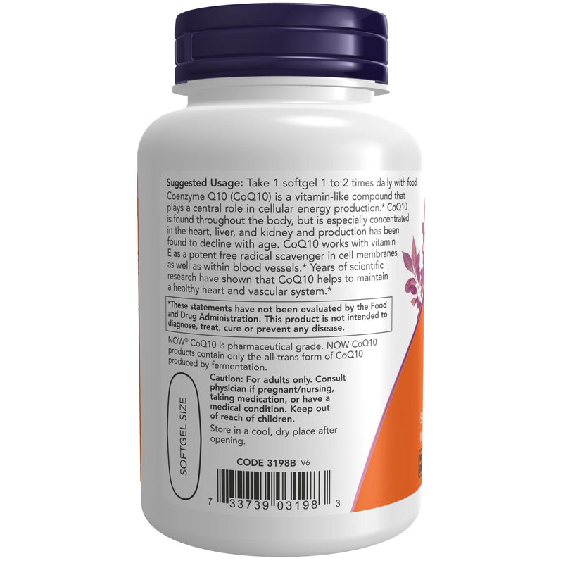 Now Foods CoQ10 400 mg - 60 Softgels