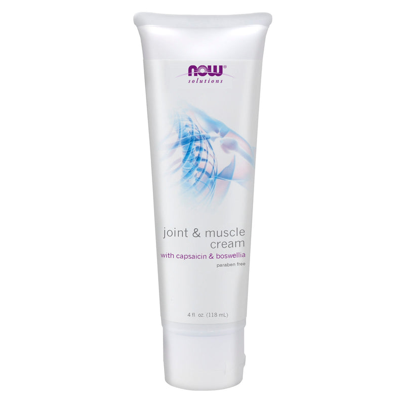 Now Joint Support Cream with Glucosamine, Boswellin & Capsaicin - 4 oz (113g)