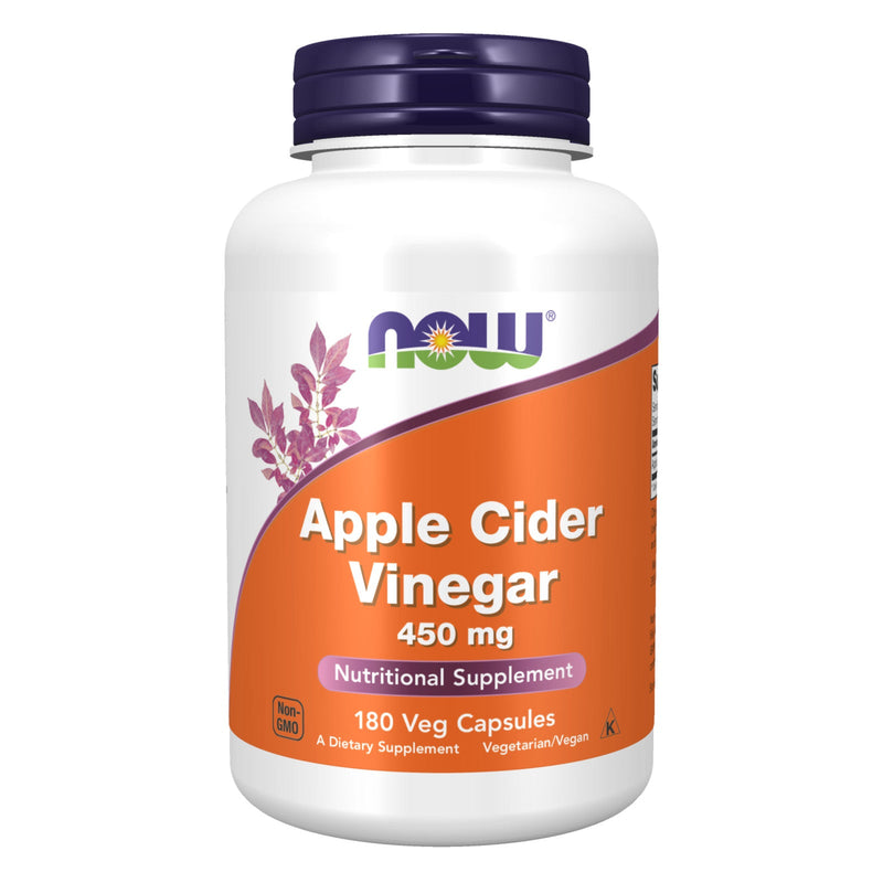 Now Foods Apple Cider Vinegar 450 mg - 180 Capsules