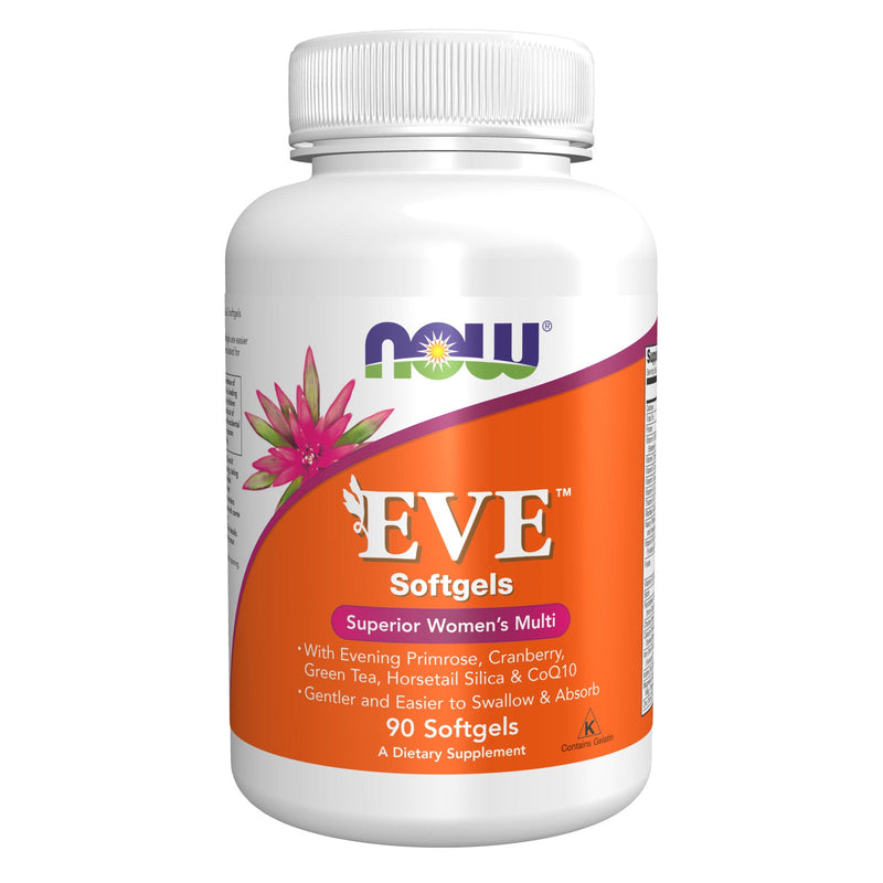 Now Eve Women's Multiple Vitamin - 90 Softgels